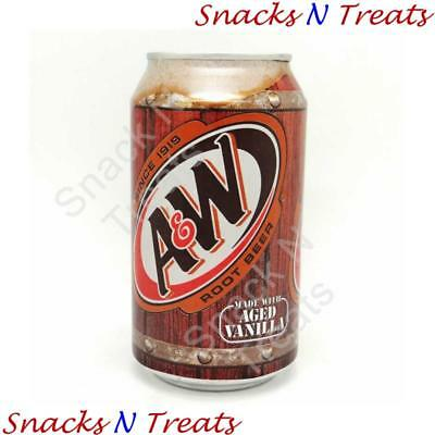 A&W Root Beer Soft Drink USA 24 X 355ml Cans - Bulk Party Pack