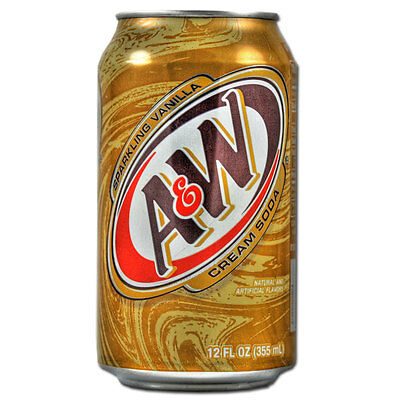 A&W Cream Soda Drink USA 24 X 355ml Cans - Bulk Party Pack