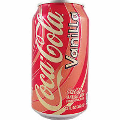 Vanilla Coca Cola Coke Drink USA 24 X 355ml Cans - Bulk Party Pack