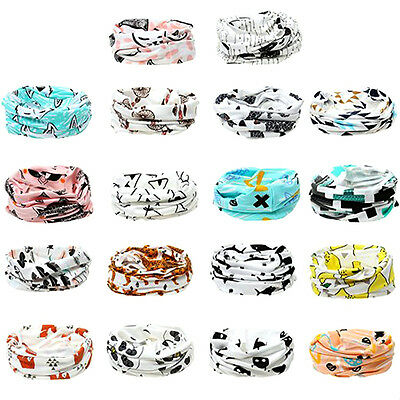 Kids Baby Toddler Lovely Animals Scarves Neck Wraps Ring Scarf Shawl Neckerchief
