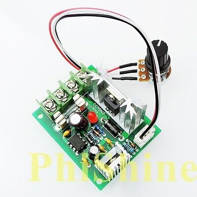 CCM5 DC Motor Speed Controller PWM 12V24V30V 120W Universal Controller with Fuse