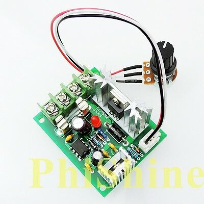 CCM5 PWM DC Motor Speed Controller 12V24V30V 120W Universal Controller with Fuse