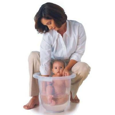 Tummy Tub Baby Bath Tub Washing Suitable from Birth Premature White Clear