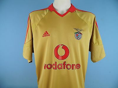 Authentic Benfica 2004-2005 Third Shirt 3rd UK Large Vodafone Portugal