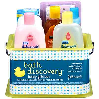 Baby Gift Set Bath Time Johnson Lotion Shampoo Powder Bathtime Essentials .