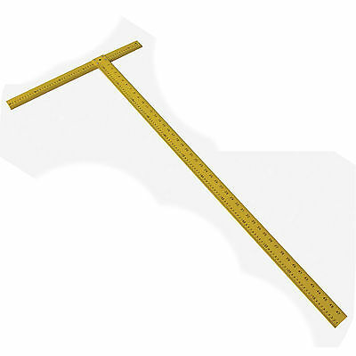 1200mm Dry Wall Drywall T Square DIY Easy Reading Measuring Tool Hilka Brand