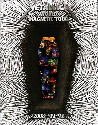 METALLICA - Official World Magnetic - Tour Programme.