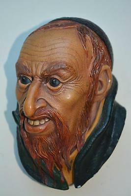 """Vintage 1960's Bossons Chalkware Wall Plaque """"Fagin"""""""