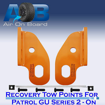 Recovery Tow Points Kit for Nissan Patrol GU Series 2, 3, 4, 5 ON