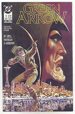 Green Arrow (1988) #1 FNVF Grell, Hannigan, Giordano