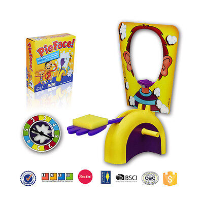 PieFace Game Family Fun Filled Game of Suspense Edition Toy Children's Day Gift