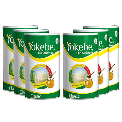 (29,40 €/1kg) Yokebe Classic Aktivkost Sechserpack
