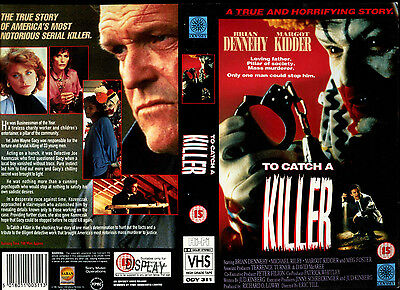 To Catch A Killer - Brian Dennehy - Video Promo Sample Sleeve/Cover #16048