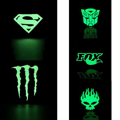 Bike Mountain Bicycle Sticker Cycling Wheel Reflective Fluorescent Decal Sticker