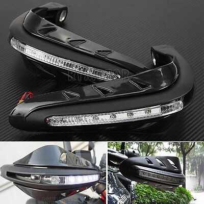 Hand Guards w/ LED Turn Signal For Suzuki Bandit GSF 600 1200 1250 SV650S SV1000