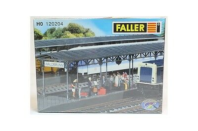 H0 1:87 Faller 120204 Covered Platforms L13225 anden para pasajeros escala trene