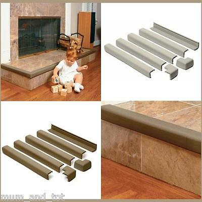 Prince Lionheart Fireplace Guards Baby Child Proofing Safety Bumper Protector