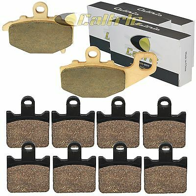 FRONT and REAR BRAKE PADS Fits KAWASAKI ZX600 Ninja ZX-6R 2007-2013