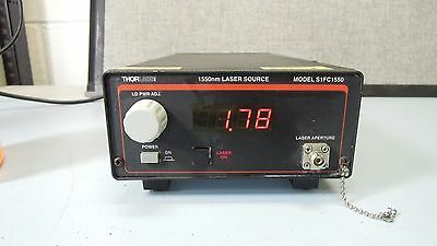 ThorLabs Fiber Coupled Laser Source 1550nm S1FC1550