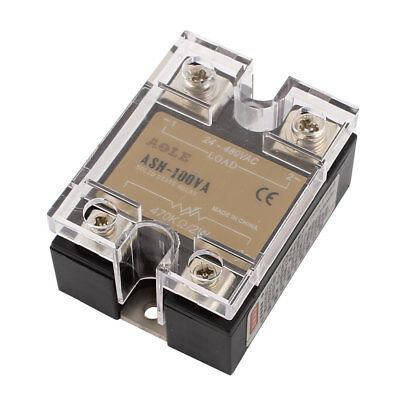 ASH-100VA 470Kohm 2W to 480VAC 100A Single Phase Solid State Relay