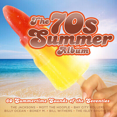 Various Artists : The 70s Summer Album CD 3 discs (2016) FREE Shipping, Save £s