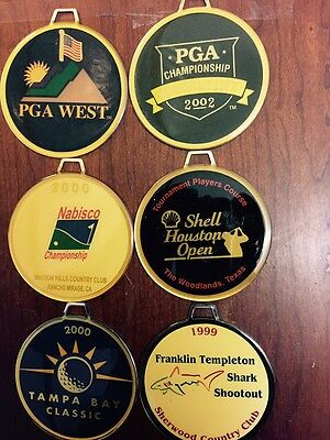 assorted golf bag tags #4