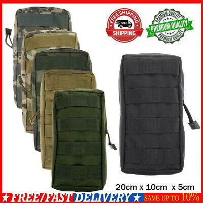 Tactical Airsoft Molle Medical Military First Aid Nylon Sling Pouch Bag Case New