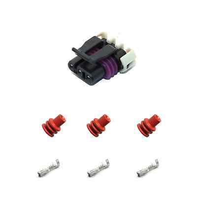 Delphi MAF / Cam / Crank Angle, 3 Wire Connector Kit Metri-Pack for GM Holden LS