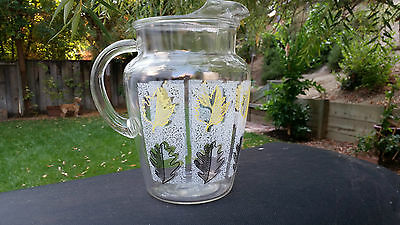Crystal Leaves Pitcher 80 oz.