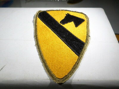 WWII VINTAGE 1st First Cavalry Division Patch