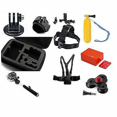 10in1 Accessories Kit Set Bundle Combo for SJ4000 WIFI SJ4000 Camera Mounts