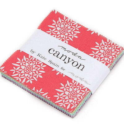 Patchwork/quilting Fabric Moda Charm Squares/packs - Canyon