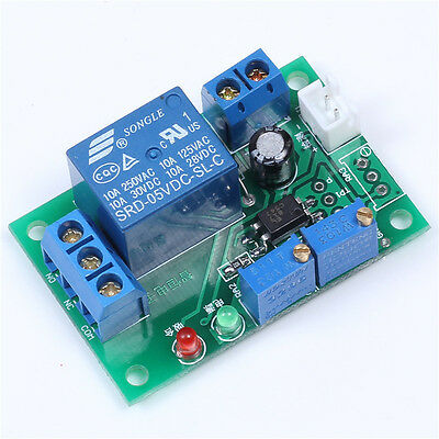 Voltage Detection Switch Relay Module 15V Overvoltage Protection