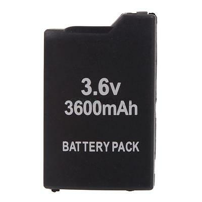 Neuf 3.6V 3600mAh Batterie rechargeable Pour Sony PSP 1000 1001 Black Series