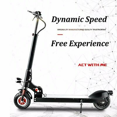 Portable Folding Electric Scooter Bike Battery Power Ride on 350W Christmas Gift