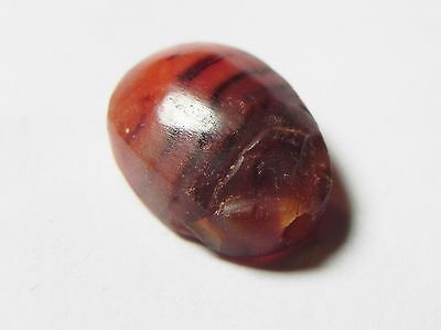 Zurqieh -Af603-  Ancient Egypt, New Kingdom. Agate Scarab 1400 B.c