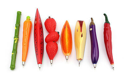 Fruit Vegetable Animals and Insects Shaped Pen Refrigerator EW