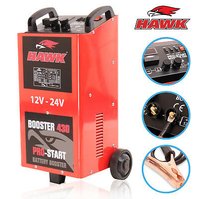 2000W 12V 24V 400a AMP GARAGE WORKSHOP CAR BATTERY CHARGER JUMP START STARTER