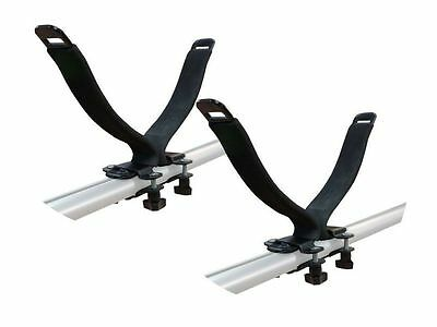 Roof Rack Bar Mounted Kayak Carrier Holder Holds x1 Universal Fitment