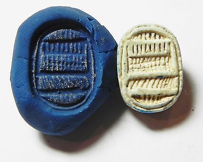 Zurqieh -Af614-  Ancient Egypt, New Kingdom. Stone Scarab 1400 B.c.