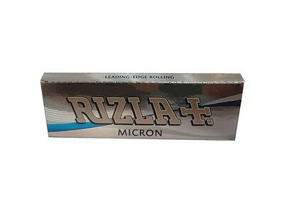 RIZLA Micron Rolling papers Standard size for good combustion (2/5/10/20/50)pcs