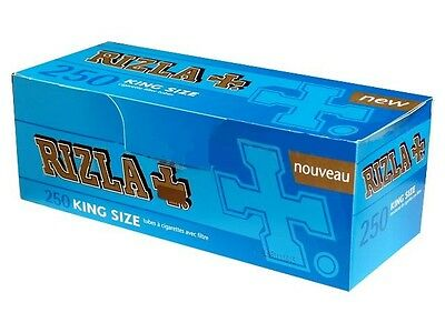 Rizla King size Empty Tubes 8mm 250 Tubes per Box (sample/1/2/4)pcs