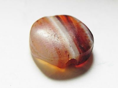 Zurqieh -Af633-  Ancient Egypt, New Kingdom. Agate Bead 1400 B.c