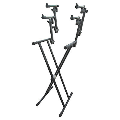 Artist KS026 Heavy Duty Triple 3 Tier Keyboard Stand (Double Braced)  - New