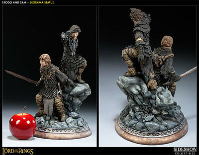 Herr der Ringe Frodo and Samwise Diorama SS200200 Sideshow Collectibles