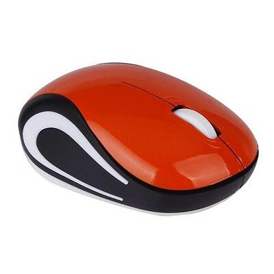 Baby mice Mini 2.4 GHz Wireless Optical Mouse Mice For PC Laptop Notebook Orange