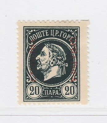 A2P46 MONTENEGRO PROVISIONAL GOVERNMENT NOT ISSUED STAMP 1921 20pa MH*
