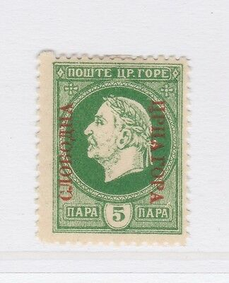 A2P46 MONTENEGRO PROVISIONAL GOVERNMENT NOT ISSUED STAMP 1921 5pa MH*