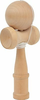 New Wooden Kendama Japanese Skill Toy Natural Wood Catch The Ball Legler