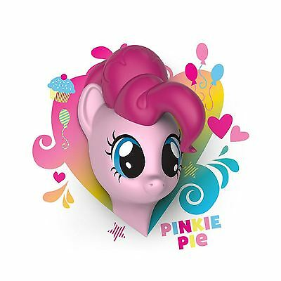 My Little Pony Pinkie Pie 3D Wall Light With Wall Stickers Childrens Lighting